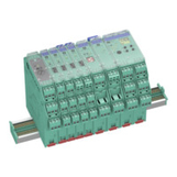 DIN-Rail / Power Rail mounted interfacing solutions by Pepperl+Fuchs for distributed control systems by Honeywell